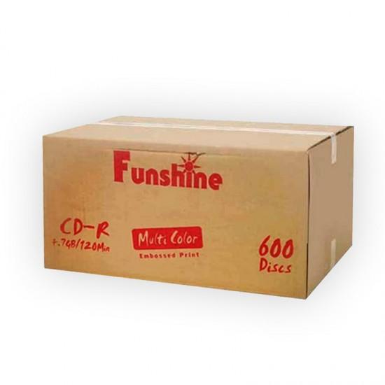 سی دی خام فانشاین باکسدار کارتن 600 عددی ( Funshine)