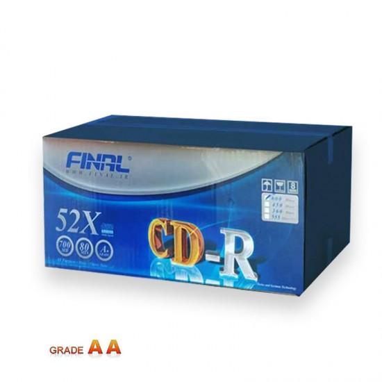 سی دی خام فینال کارتن 600 عددی