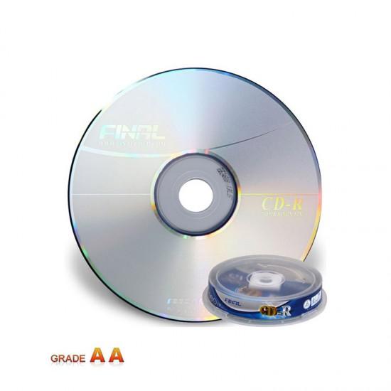 سی دی خام فینال بسته 10 عددی