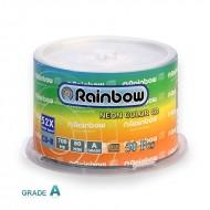 سی دی خام رین بو باکس دار ( Rainbow )