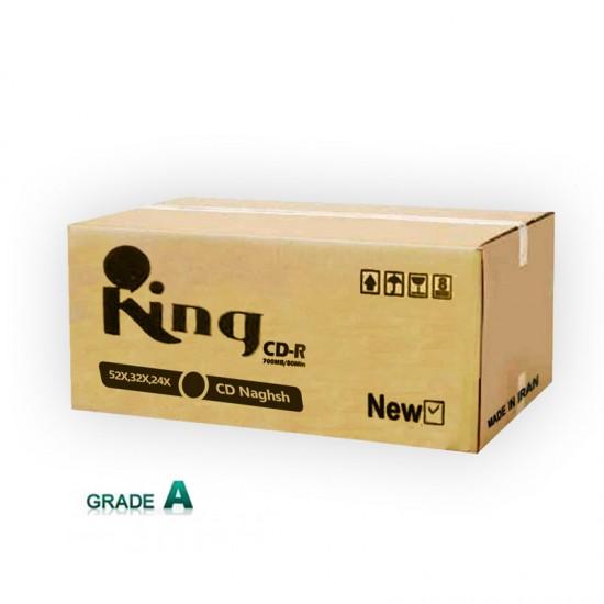 سی دی پرینتیبل کینگ کارتن 600 عددی ( King)