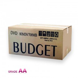دی وی دی خام باجت قرمز کارتن 600 عددی  (BUDGET)