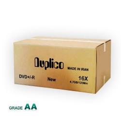 دی وی دی خام پرینتیبل داپلیکو باکس دار کارتن 600 عددی