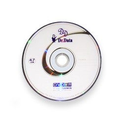 دی وی دی خام دکتر دیتا باکس دار کارتن 600 عددی (Dr.Data)
